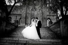 bryllupsfoto-ved-kirke