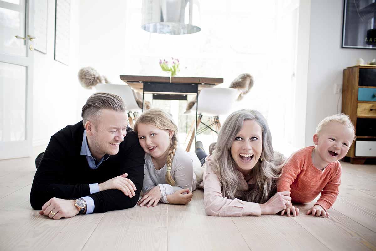 familie foto København
