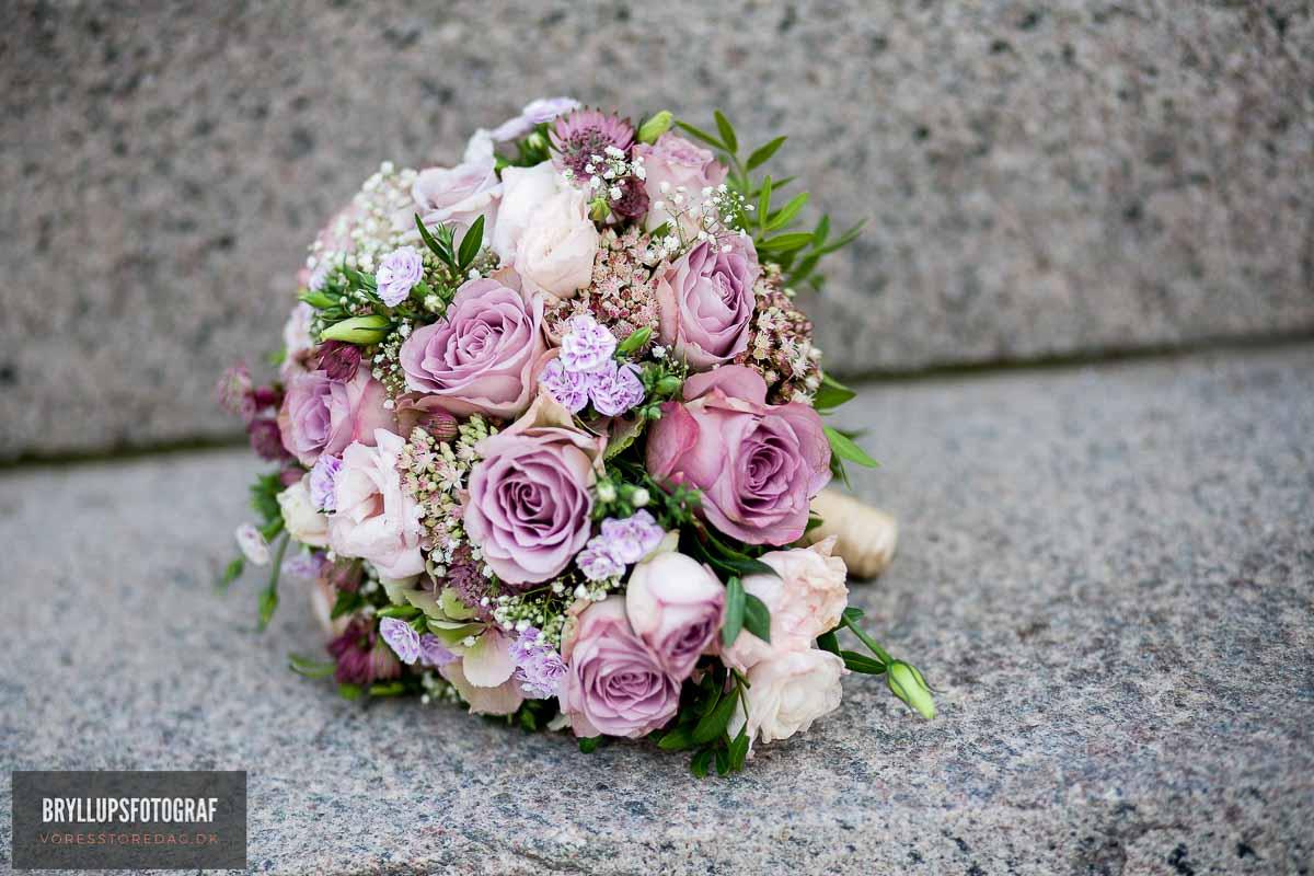brudebuketten bryllup KBH