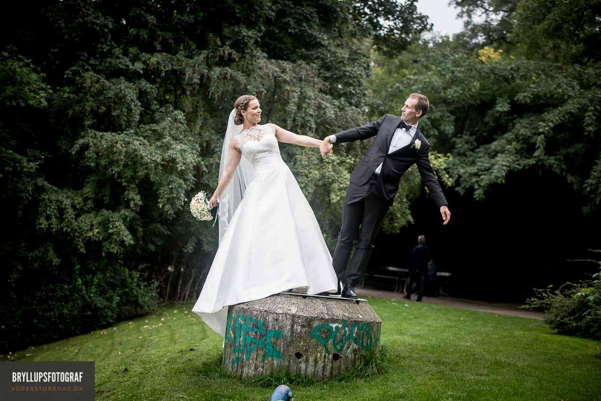 bryllupsbilleder sjove