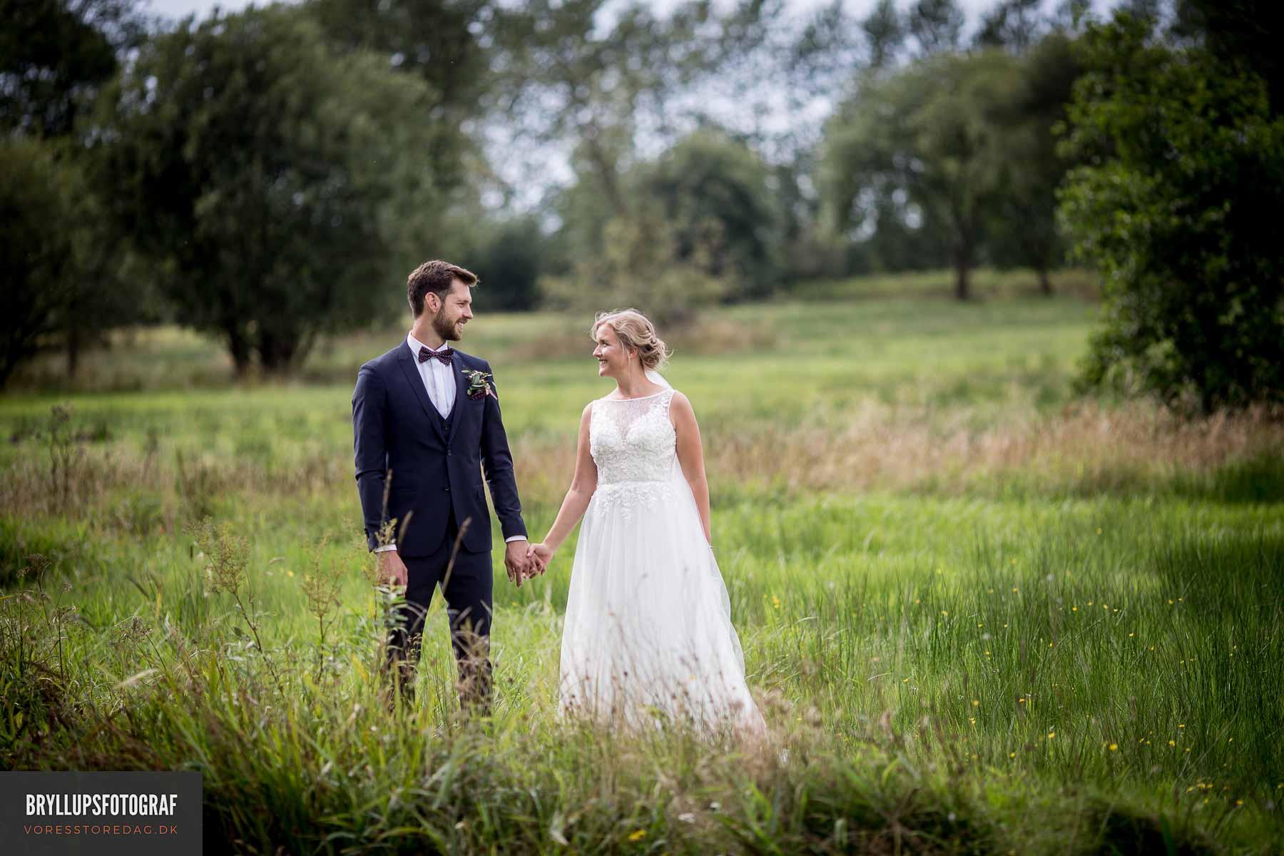 Inspiration til bryllupsbillederne At blive gift
