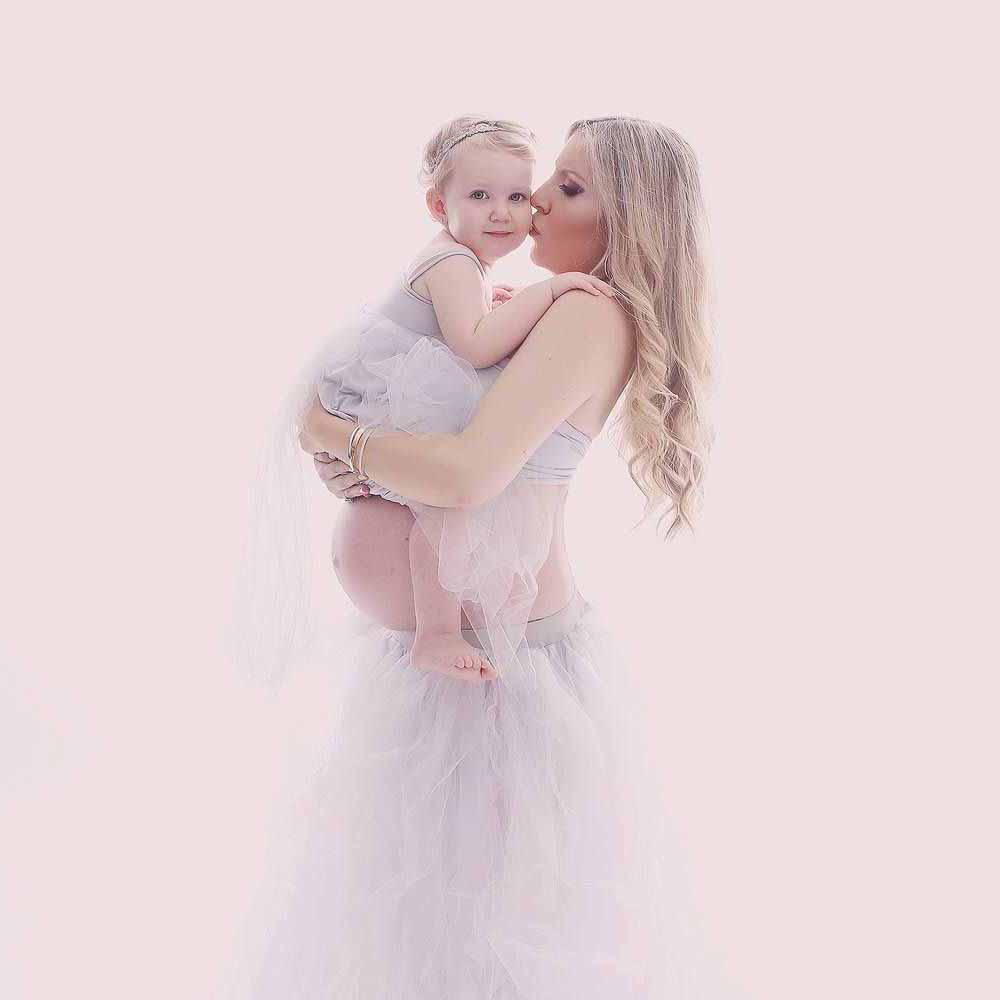kjole til gravid fotografering København