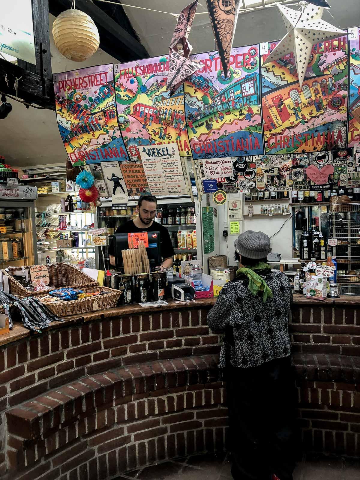 Christiania er en af de mest besøgte attraktioner i København