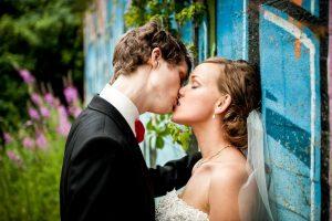 En bryllupsfotograf er specialiseret