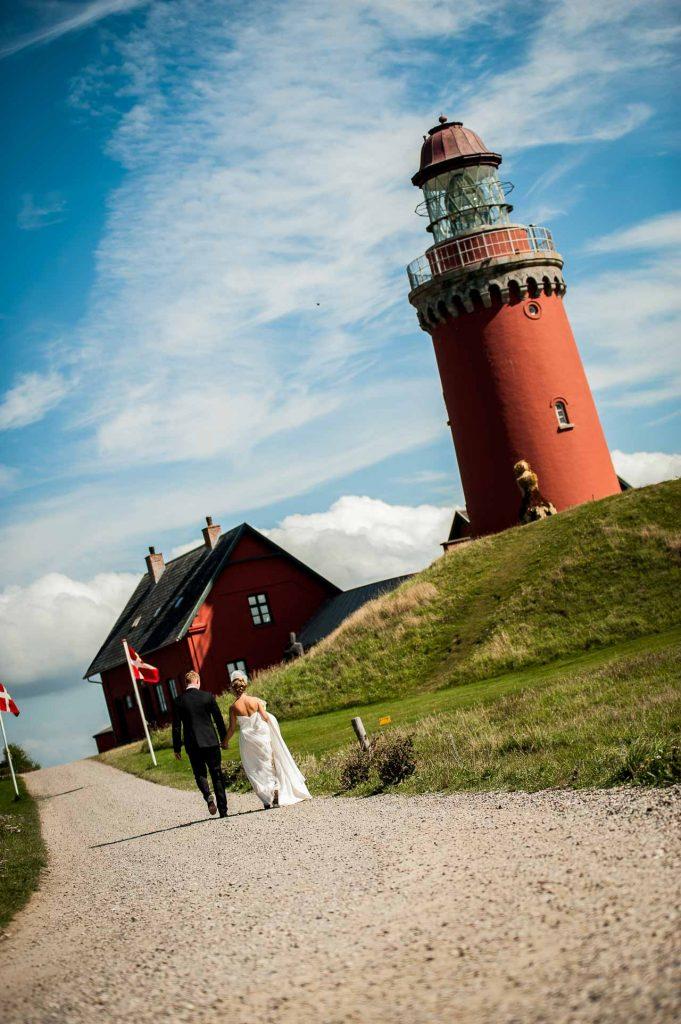 Fotografering Amager Strand - Bryllupsfotograf