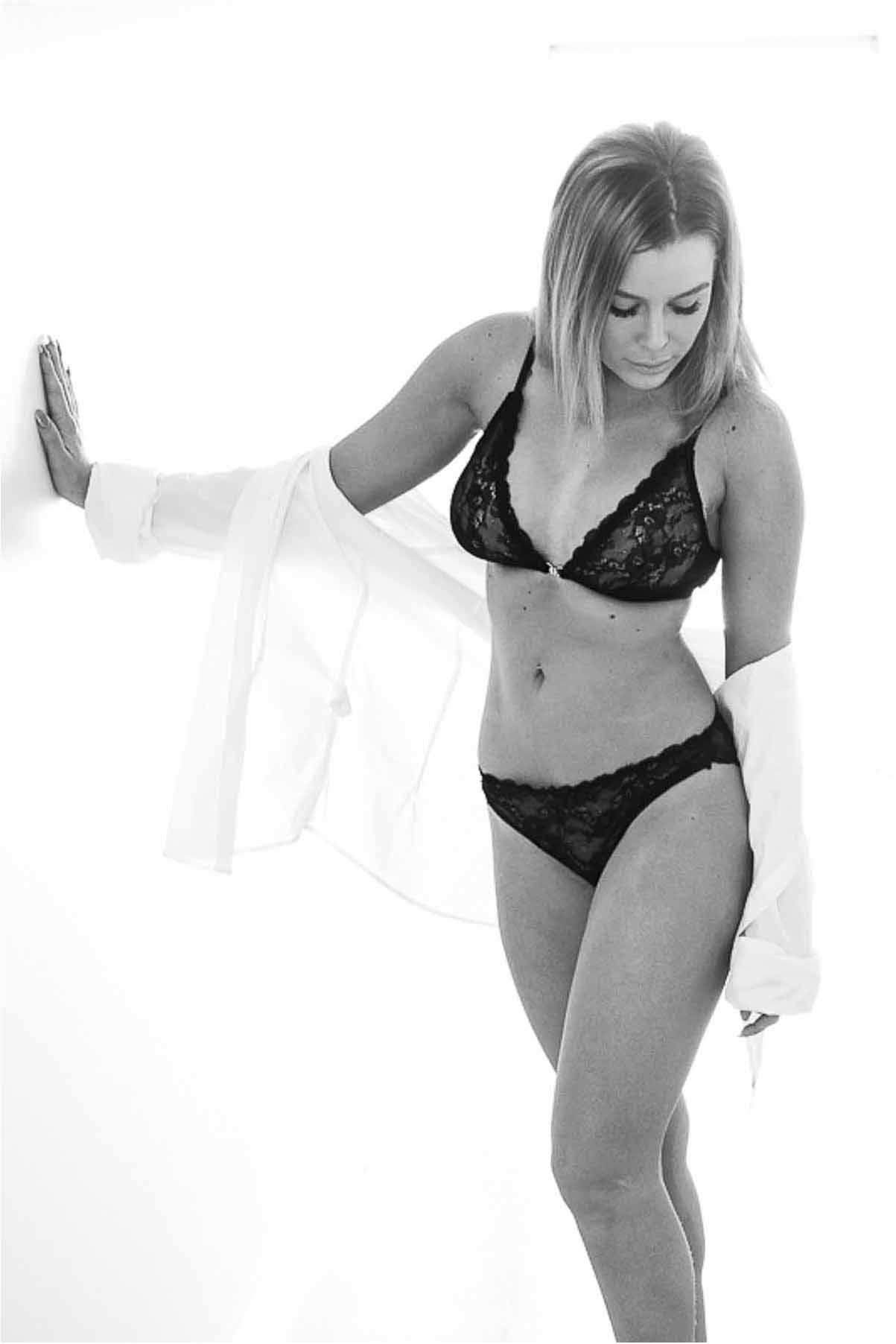 Boudoir fotograf til flotte boudoir foto og morgengave